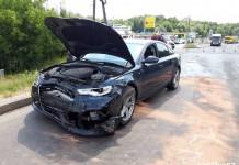 93-letni kierowca spowodował wypadek w Jastrzębiu, fot. Policja Jastrzębie