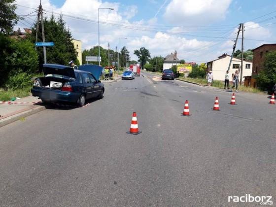 93 letni kierowca spowodował wypadek w Jastrzębiu, fot. Policja Jastrzębie
