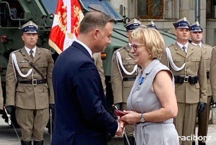 Dorota Sochiera odznaczona Medalem Stulecia Odzyskanej Niepodległości
