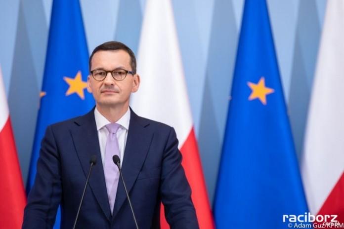 Premier Mateusz Morawiecki. Fot. Adam Guz/KPRM