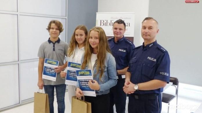 Konkurs Wiedzy o Ruchu Drogowym w raciborskiej bibliotece
