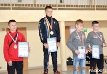 Siedem medali zapaśników Unii Racibórz w Gniechowicach