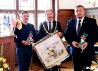 Jubileusz partnerstwa powiatu raciborskiego i Rendsburga