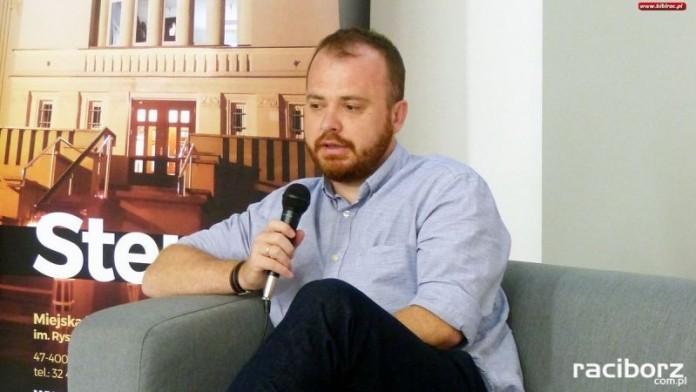 Spotkanie z Wojciechem Chmielarzem w Raciborzu