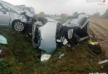 Wypadek na DK 45