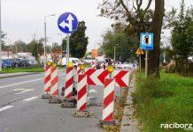 Budowa drogi Racibórz – Pszczyna. Utrudnienia na ul. Rybnickiej
