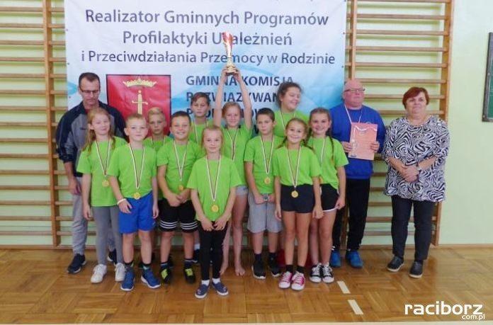 Gminny Turniej Gier i Zabaw Ruchowych w Borucinie