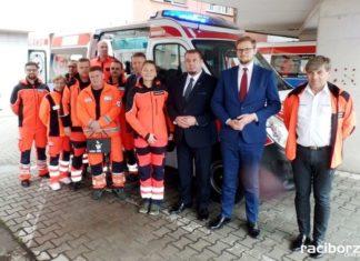 Szpital w Raciborzu ma nowy ambulans