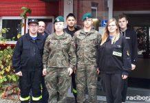 Oddali krew dla saperów poszkodowanych w Kuźni Raciborskiej