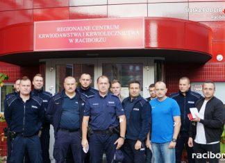 Policjanci oddali krew