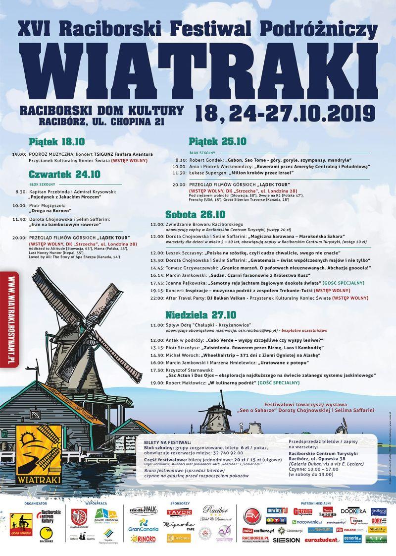 raciborski festiwal podrozniczy wiatraki