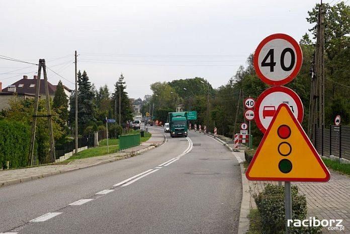 Budowa chodnika wzdłuż Gliwickiej i Odrodzenia