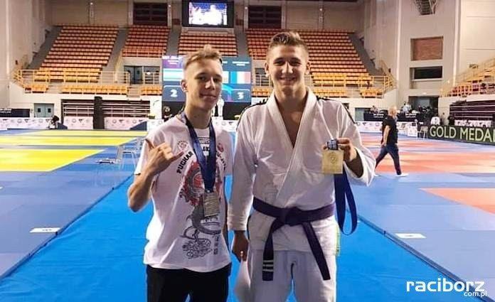 Julian Stencel i Patryk Ogonowski