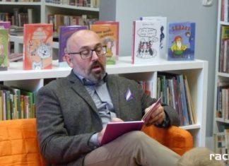 Waldemar Cichoń gościł w raciborskiej bibliotece