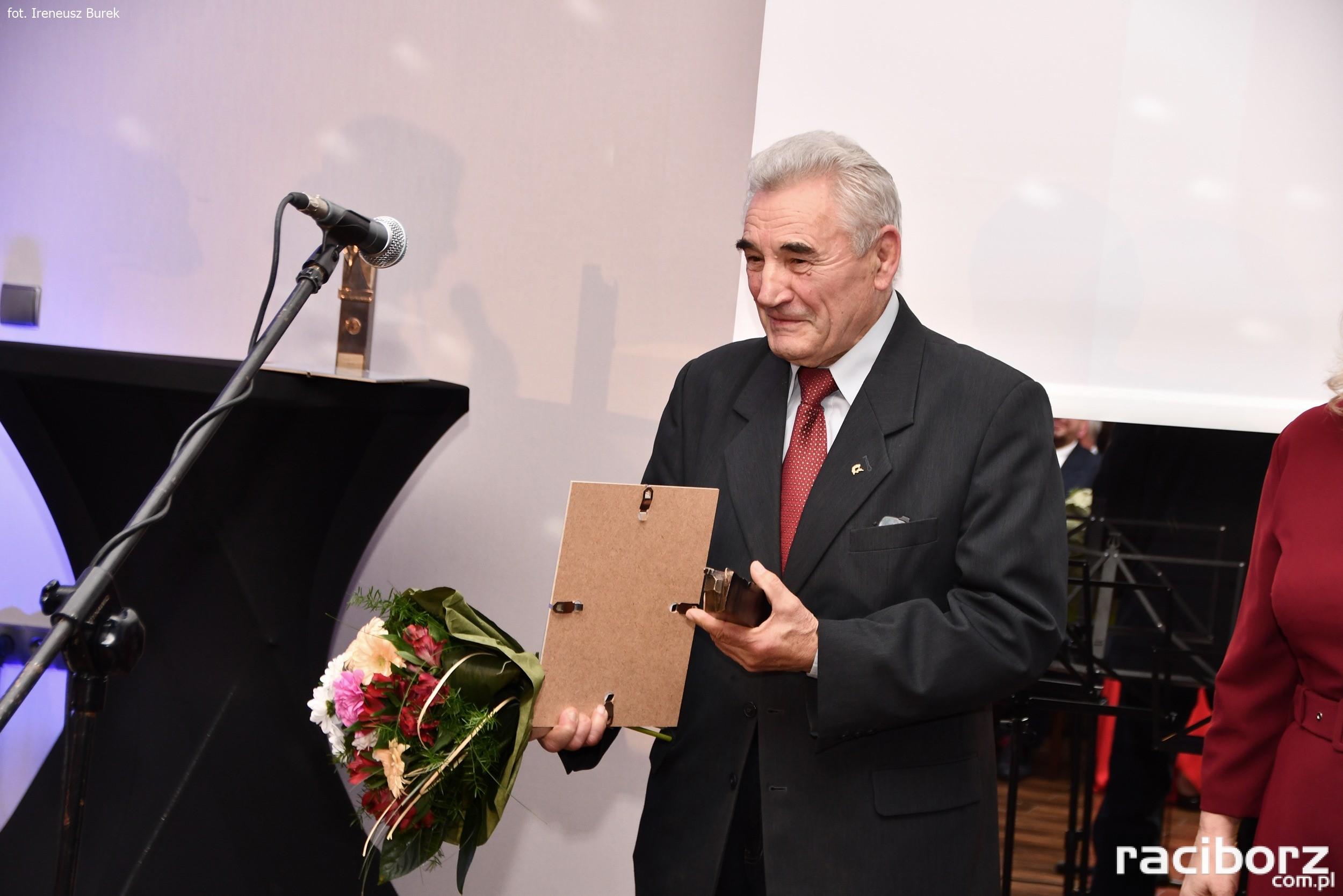 Hubert Skornia wieloletni działacz na rzecz Klubu zapaśniczego Dąb Brzeźnica
