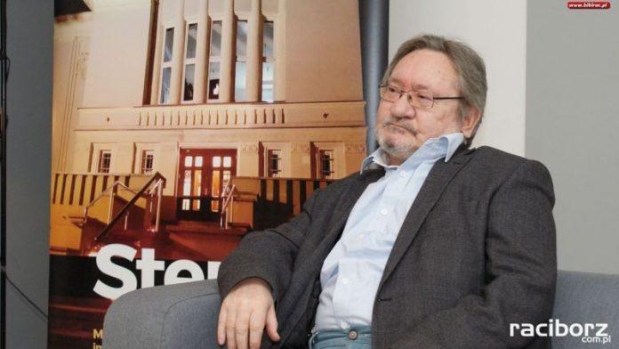 Leszek Libera w raciborskiej bibliotece