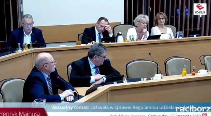 Rada Miasta Racibórz. Fot. raciborz.esesja.pl