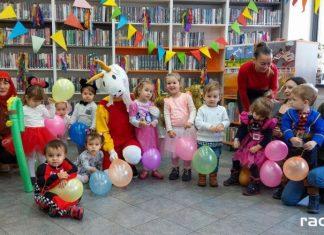 Bal z Koziołkiem Matołkiem w bibliotece na Ostrogu