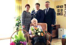 Marta Gaida z Krzyżanowic świętowała 95. urodziny