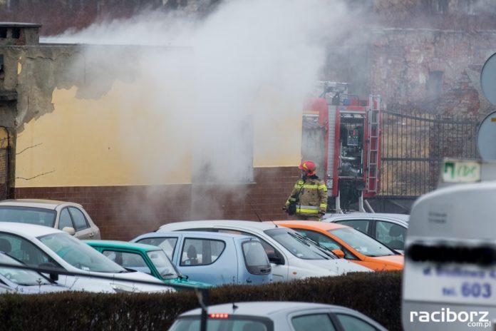 Pożar w Polmosie