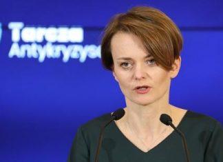 Minister Rozwoju Jadwiga Emilewicz Fot. MR