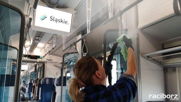 Koronawirus: Wzmożone działania prewencyjne w pociągach Kolei Śląskich