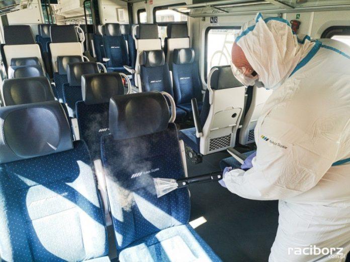 Nowe rozwiązania Kolei Śląskich w walce z koronawirusem