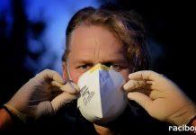 koronawirus maska