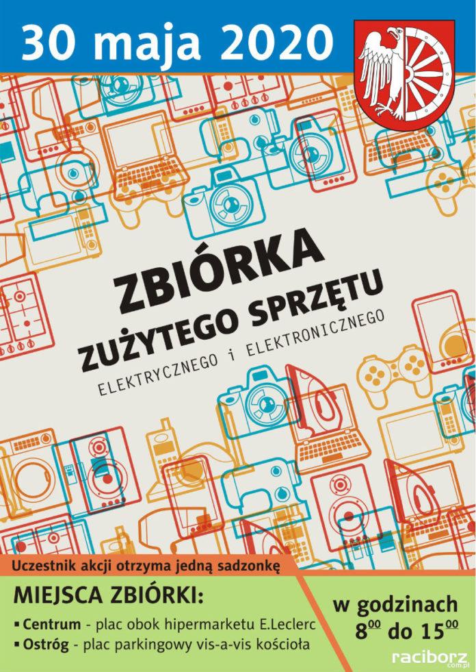 Miasto Racibórz organizuje akcję zbiórki zużytego sprzętu elektrycznego i elektronicznego.