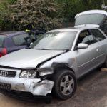 Pościg za kradzionym autem ulicami Rybnika