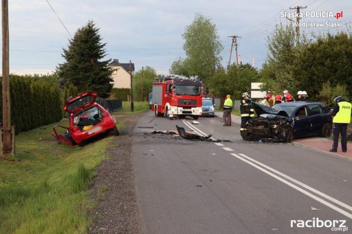 Wypadek w Gołkowicach
