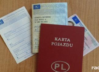 Rejestracja pojazdu