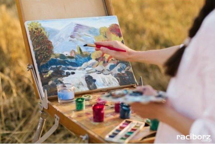 malarz obraz