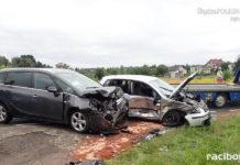 Wypadek w Niedobczycach