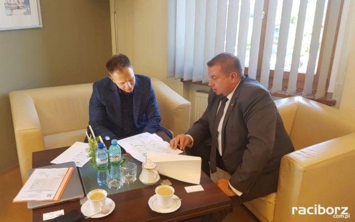 Spotkanie starosty z przedstawicielem firmy ELTEL Networks Energetyka S.A.