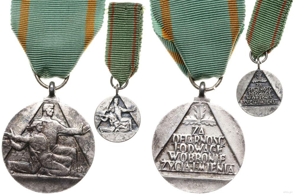 medale ze ofiarnosc