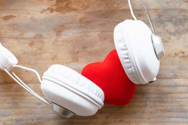 serce walentynki muzyka