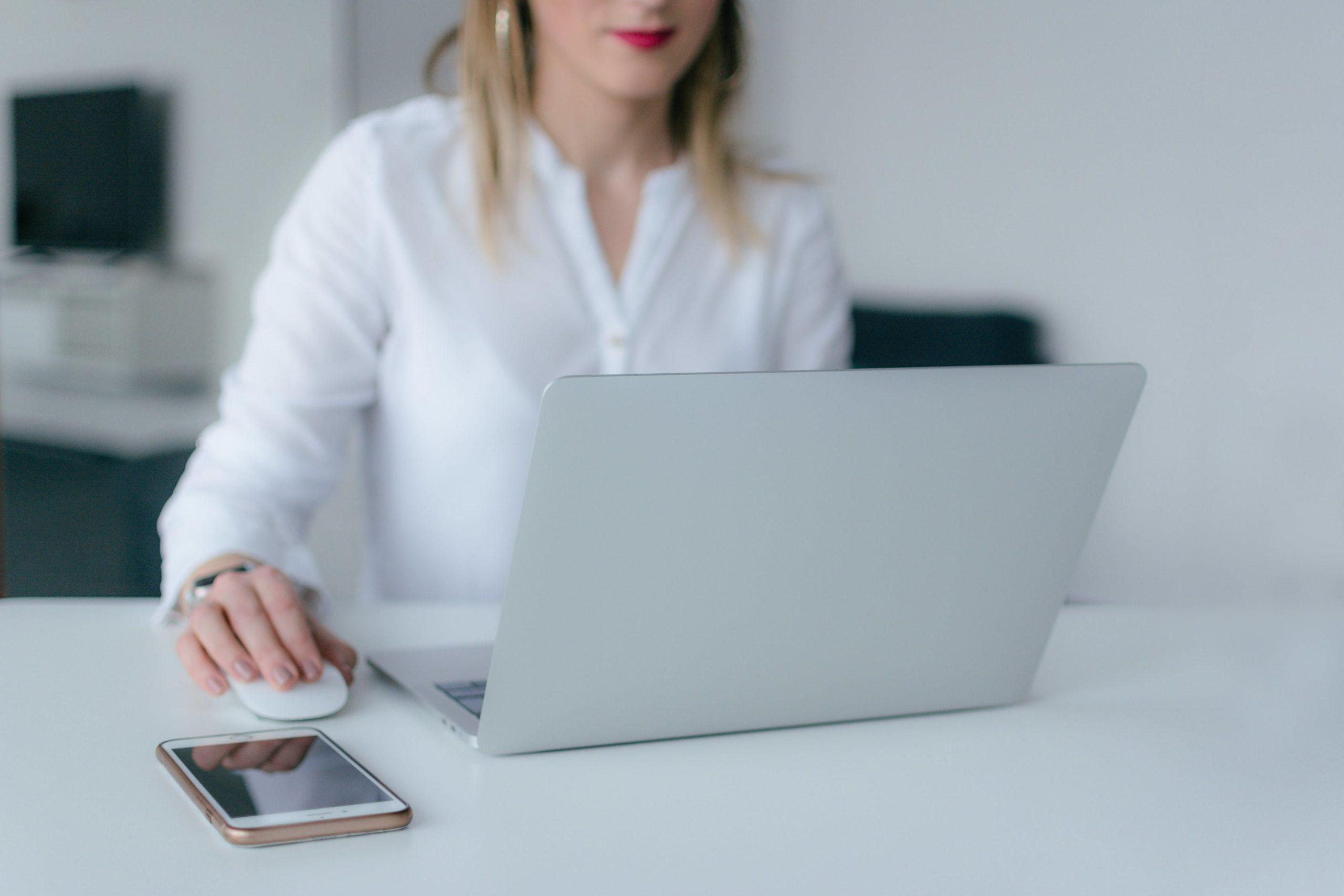 biznes komputer praca