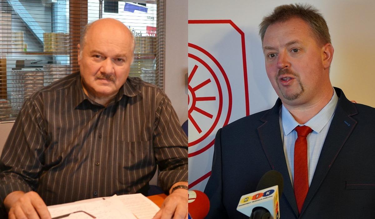 Piotr Klima i Dawid Wacławczyk