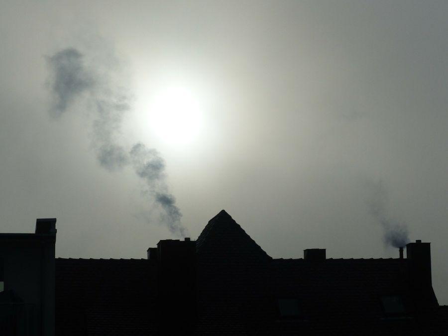 smog dym powietrze