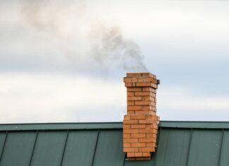 dym komin smog