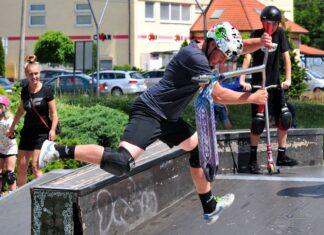 extreme city skatepark