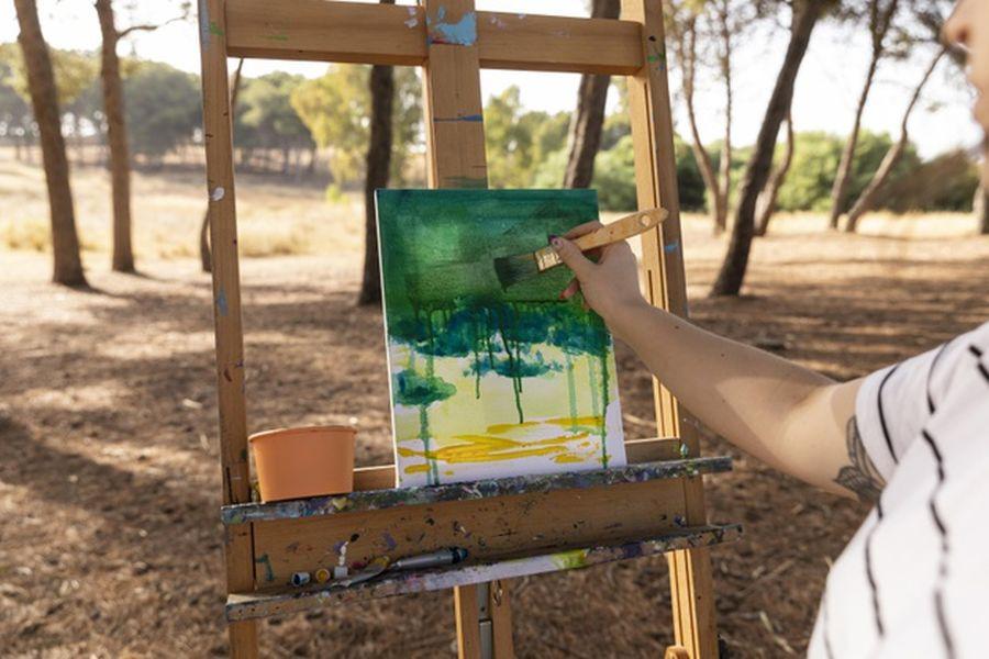 malarz malowanie obraz