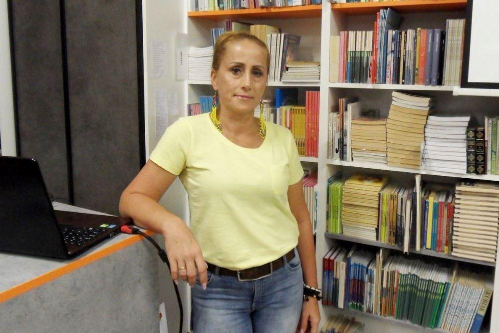 O Gambii w bibliotece w Markowicach