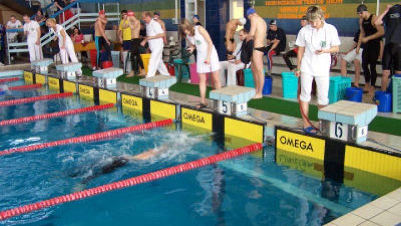 Zawody w sprincie pływackim