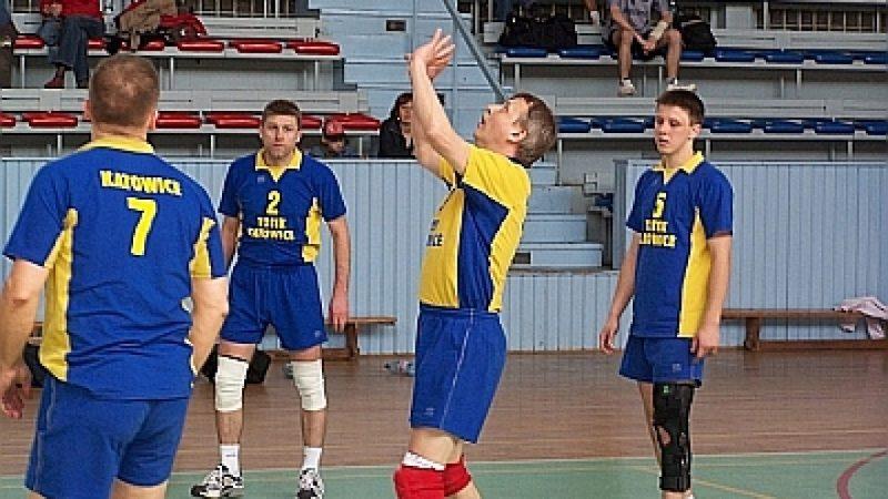 Finał siatkarskiej amatorskiej ligi - OSiR