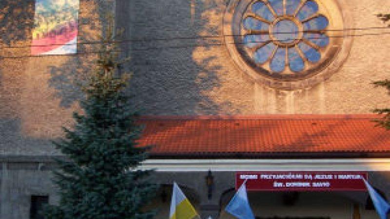 Relikwie św. Dominika Savio w Pogrzebieniu