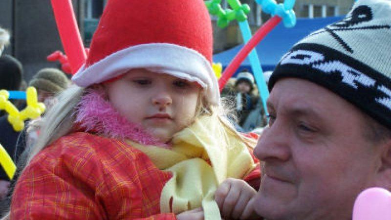 Mikołaj odwiedził raciborski rynek
