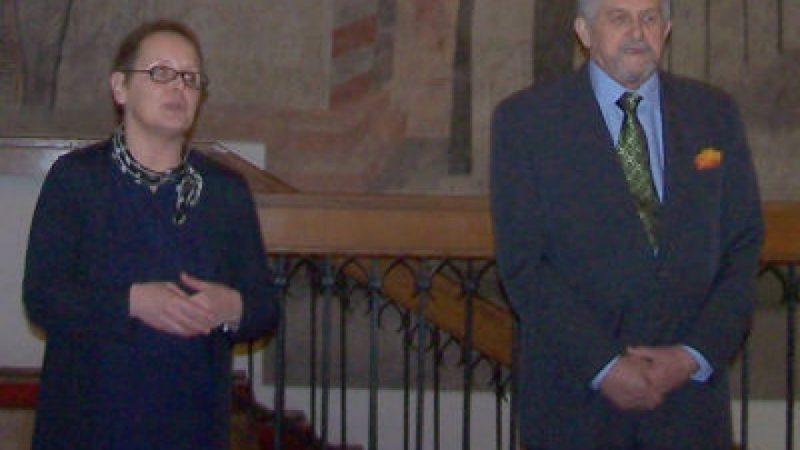 Otwarcie jubileuszowej wystawy Mariana S. Zawisły