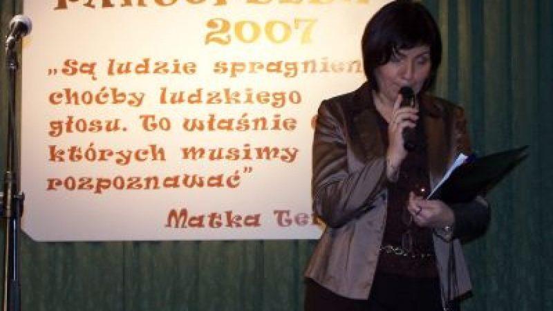 Pantofelek 2007 dla siostry Antonii